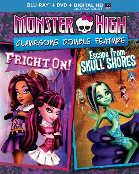 Monster High: Clawesome Double Feature Large Poster