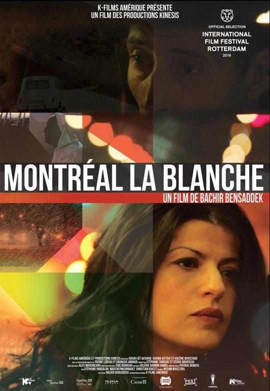 Montréal la blanche Large Poster