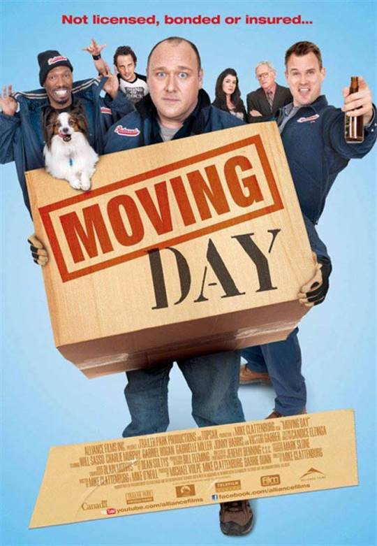 Moving Day Large Poster