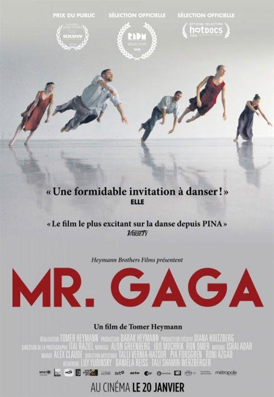 Mr. Gaga (v.o.s.-t.f.) Large Poster