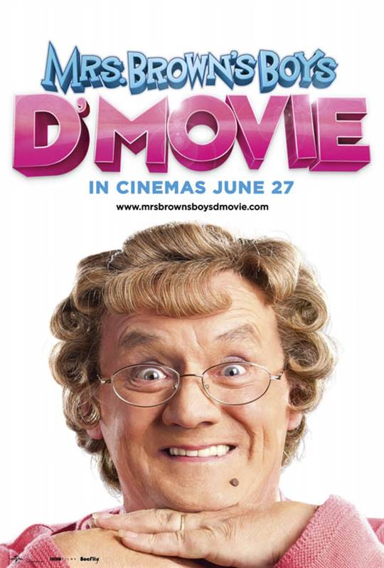 Mrs. Brown's Boys D'Movie Large Poster