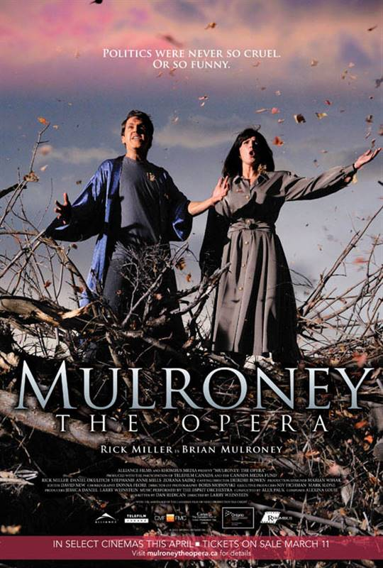 Mulroney: The Opera Large Poster