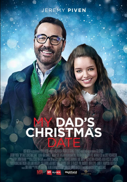 My Dad's Christmas Date Large Poster
