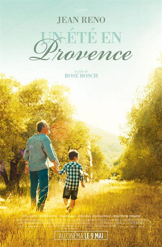 My Summer in Provence Large Poster