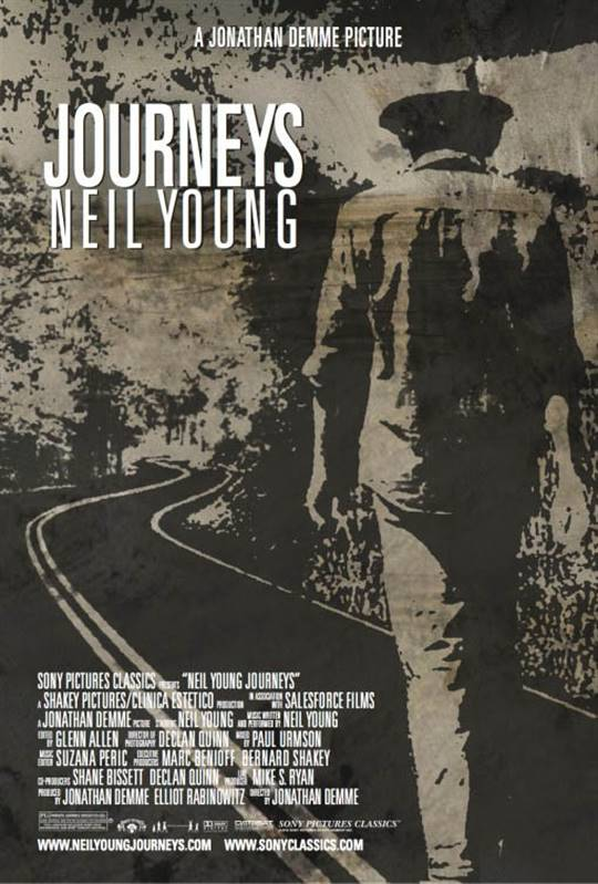 Neil Young Journeys Large Poster