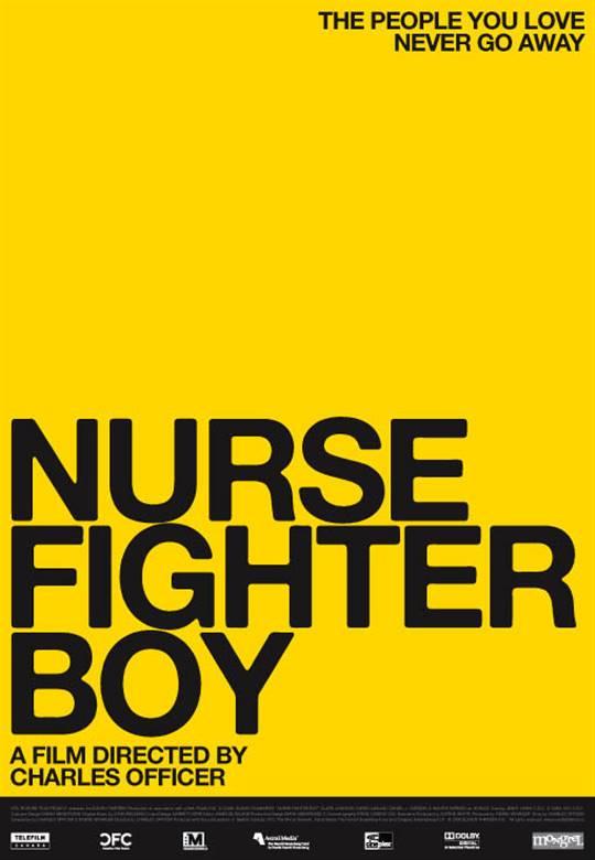 Nurse.Fighter.Boy Large Poster