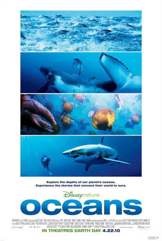 Oceans Large Poster