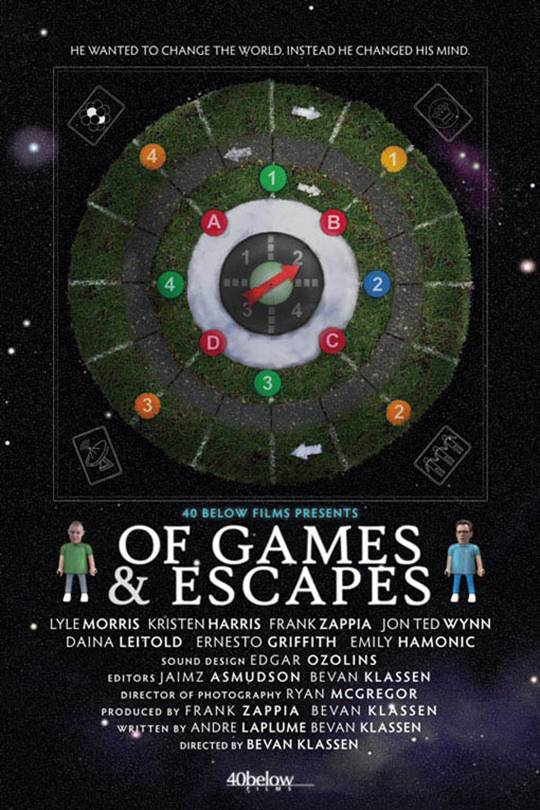 Of Games and Escapes Large Poster