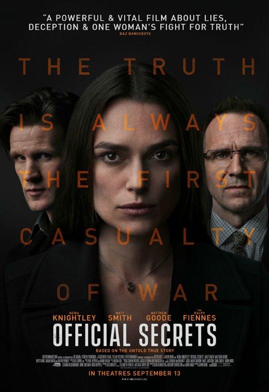 Official Secrets Large Poster