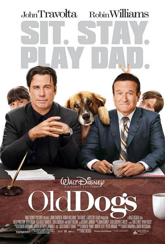 Old Dogs Large Poster