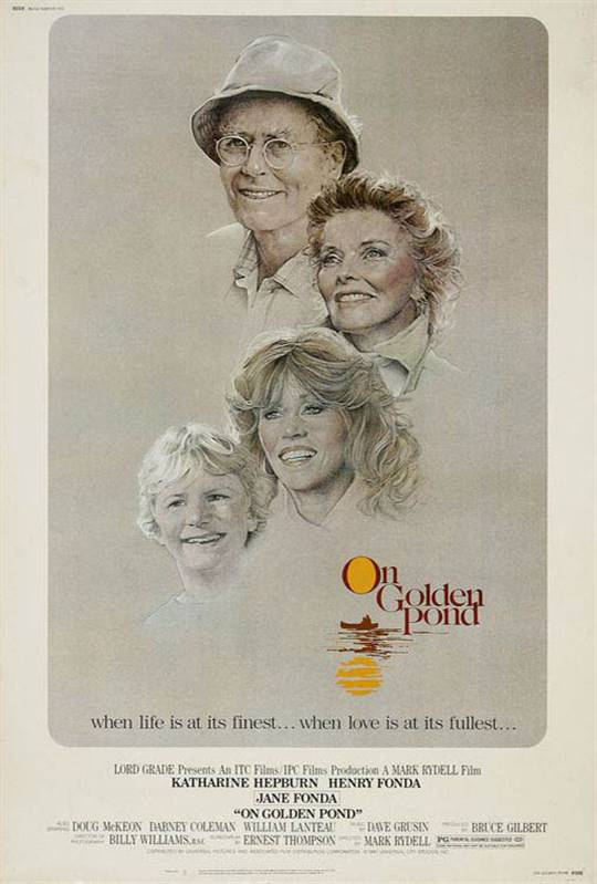 On Golden Pond Large Poster