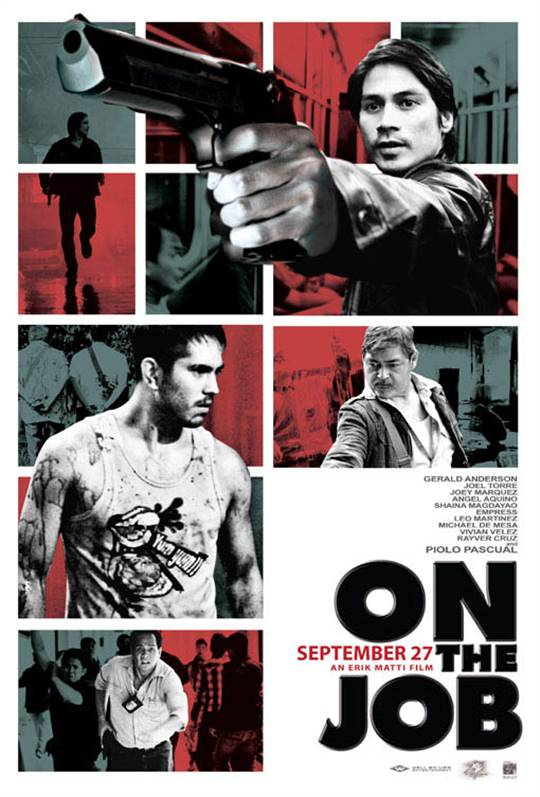 On the Job Large Poster