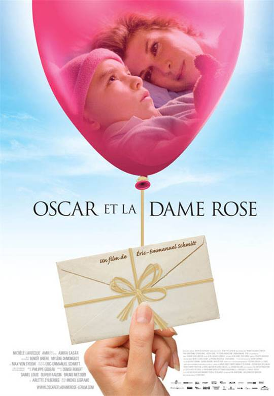 Oscar and the Lady in Pink Large Poster