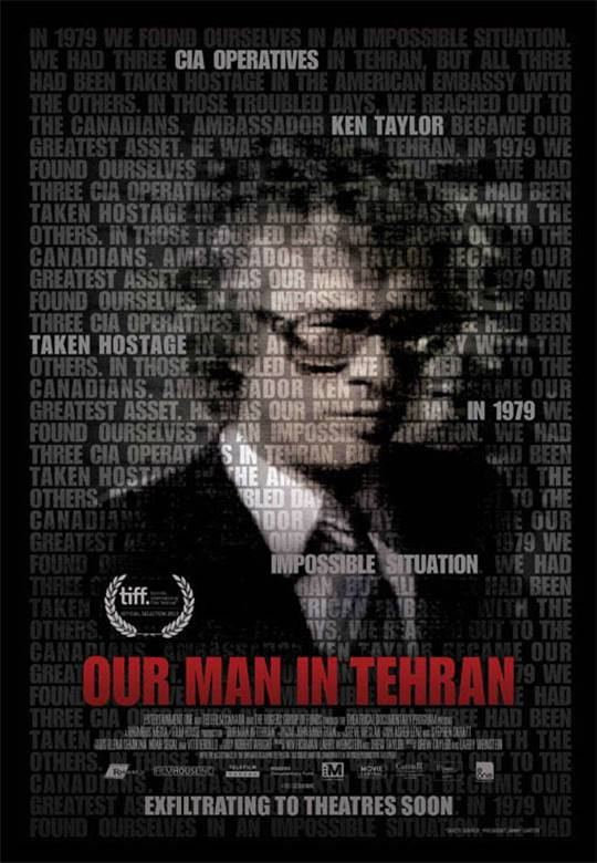 Our Man In Tehran Large Poster