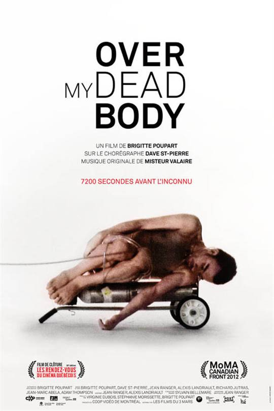 Over My Dead Body Large Poster