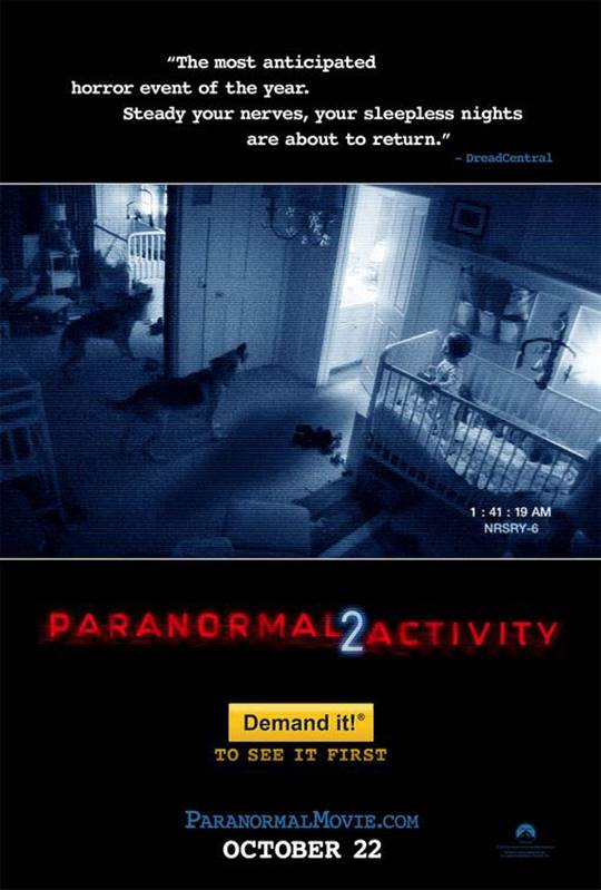 Paranormal Activity 2 Large Poster