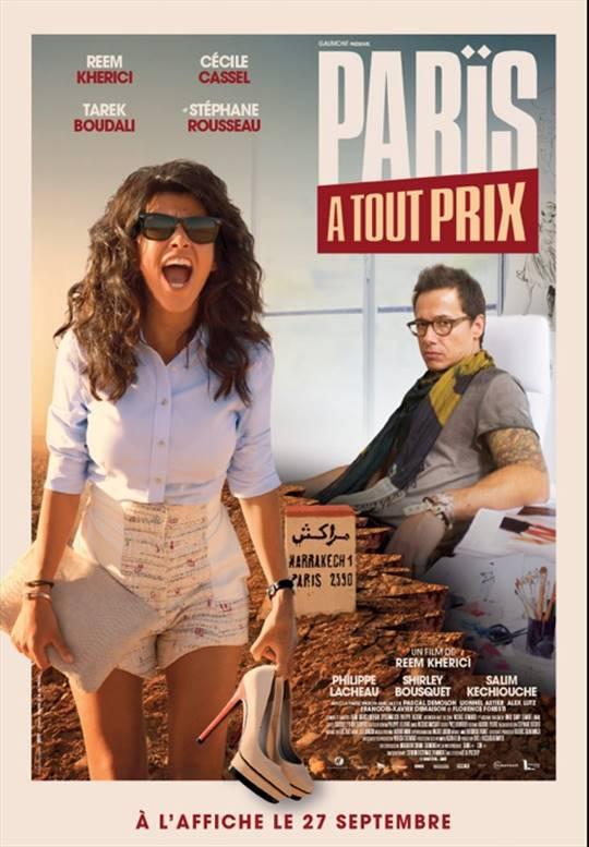 Paris or Perish Large Poster