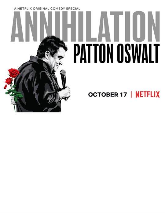 Patton Oswalt: Annihilation (Netflix) Large Poster