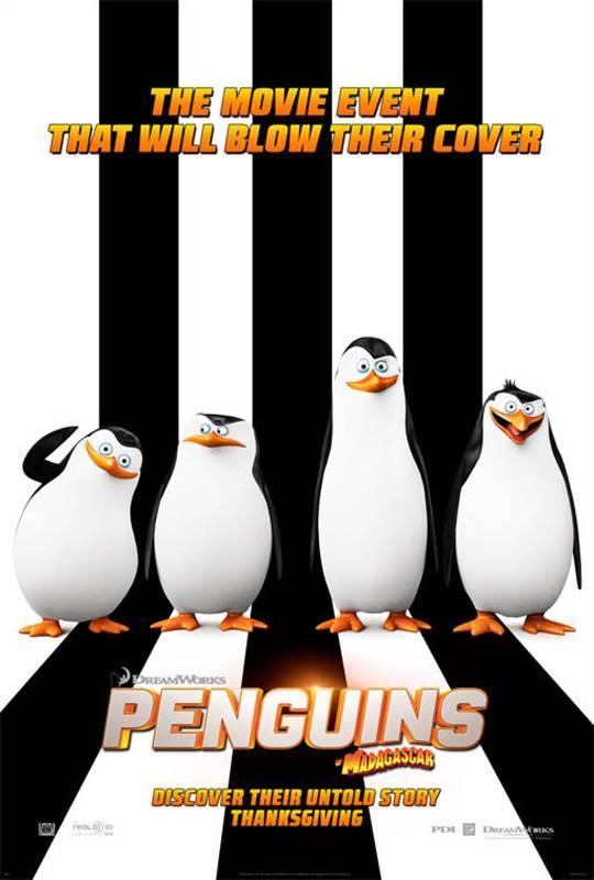 Penguins of Madagascar Large Poster