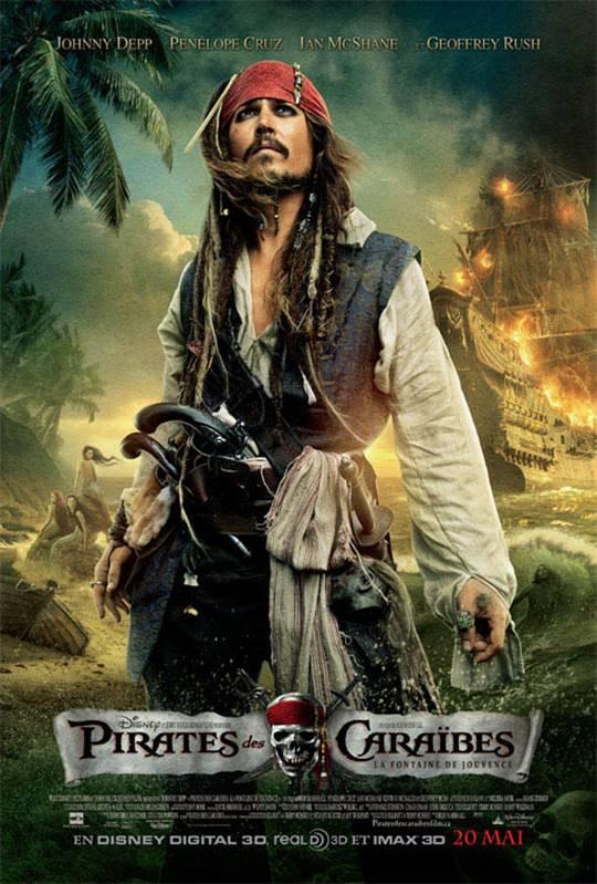 Pirates Des Cara 239 Bes La Fontaine De Jouvence Poster