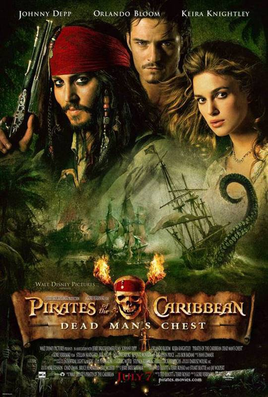 Pirates of the Caribbean: Dead Man's Chest Large Poster