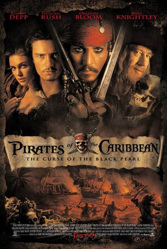 Pirates of the Caribbean: The Curse of the Black Pearl Large Poster
