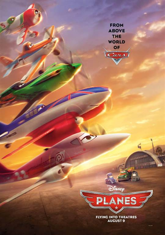 Planes Large Poster