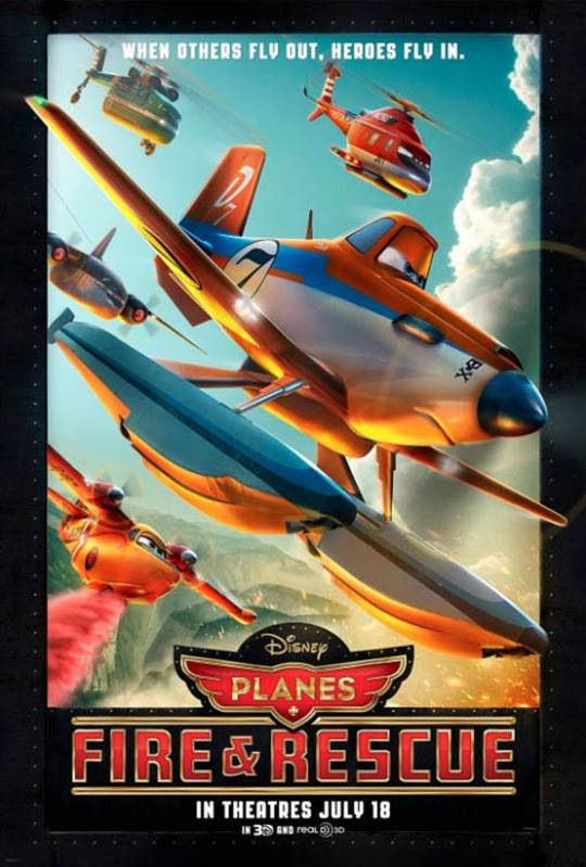Planes: Fire & Rescue Large Poster