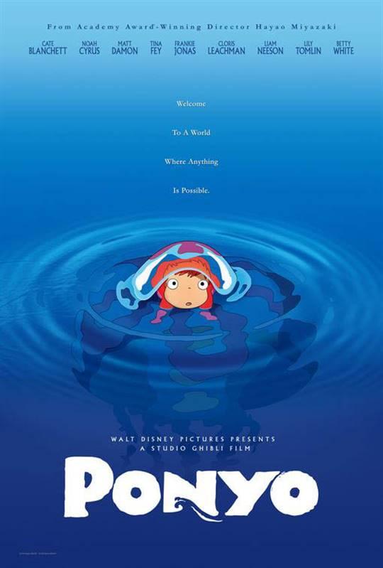 Ponyo (Dubbed) Large Poster