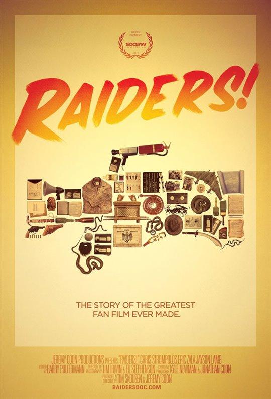 Raiders! The Story of the Greatest Fan Film Ever Made (v.o.a.) Large Poster
