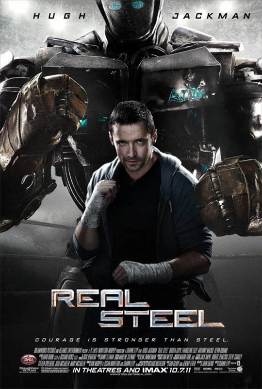 Real Steel Large Poster