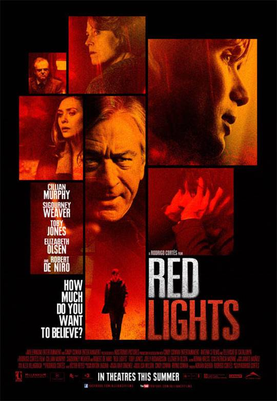 Red Lights Large Poster