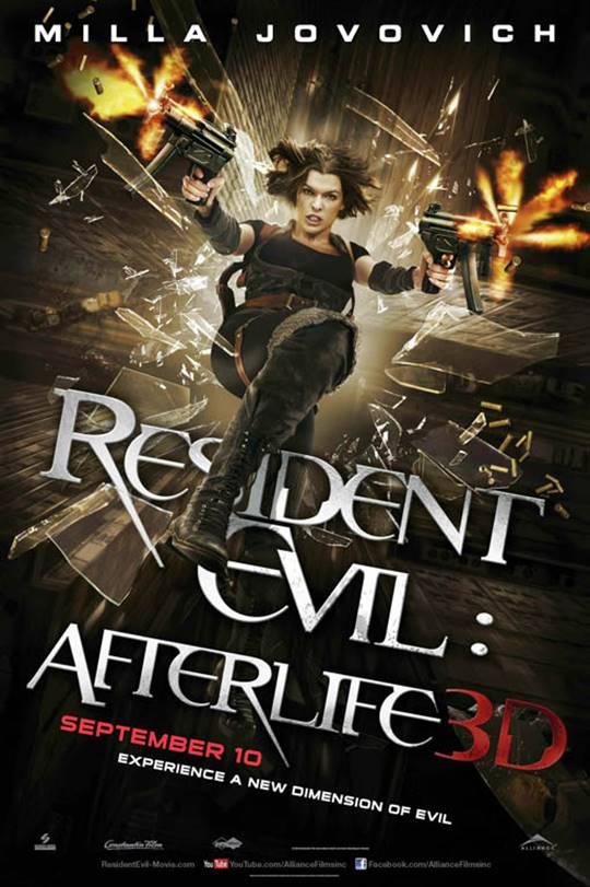 Resident Evil: Afterlife Large Poster