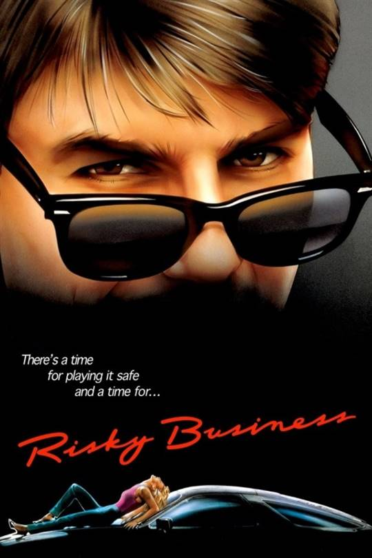 Risky Business Large Poster
