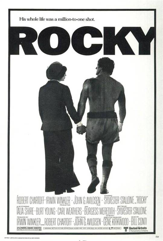 Rocky Large Poster
