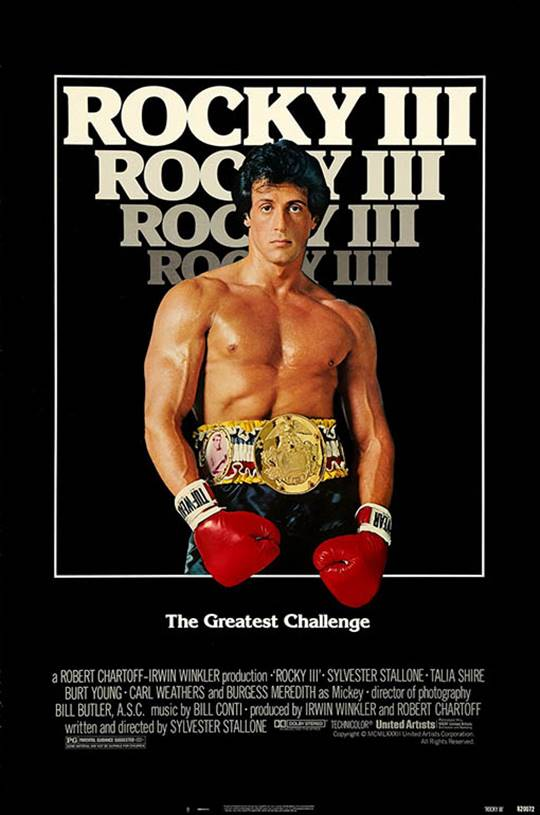 Rocky III Large Poster