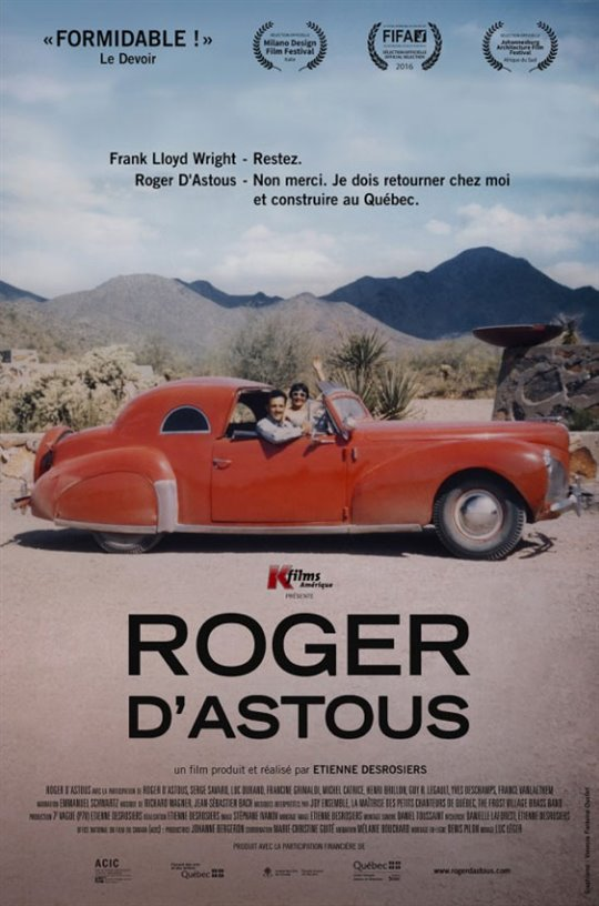 Roger D'Astous Large Poster