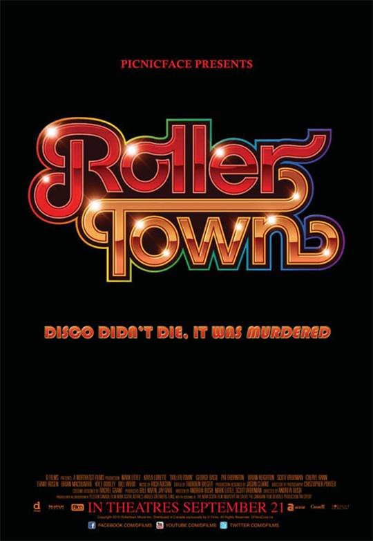 Roller Town Large Poster