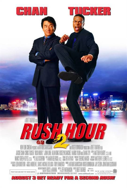 Rush Hour 2 Large Poster