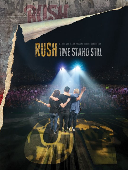 Rush: Time Stand Still Large Poster