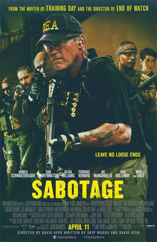 Sabotage Large Poster