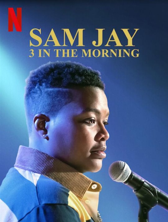 Sam Jay: 3 in the Morning (Netflix) Large Poster