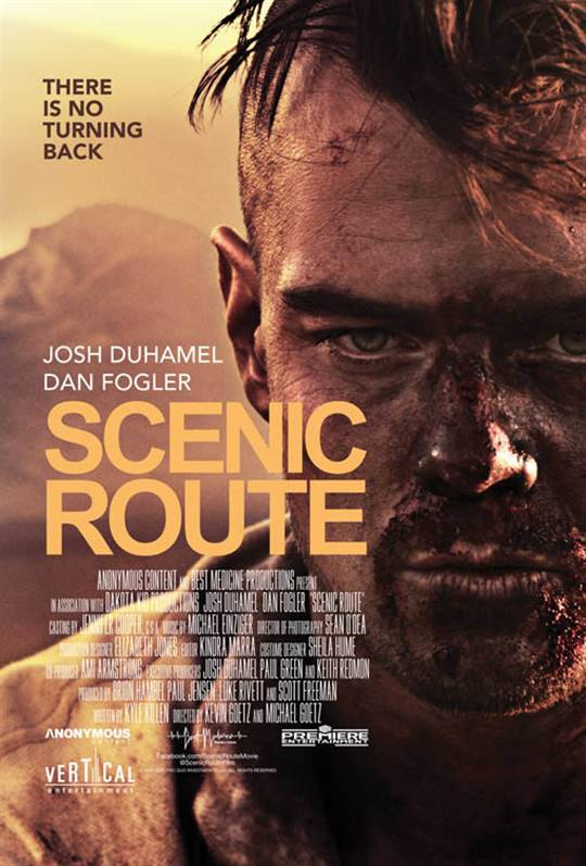 Scenic Route Large Poster