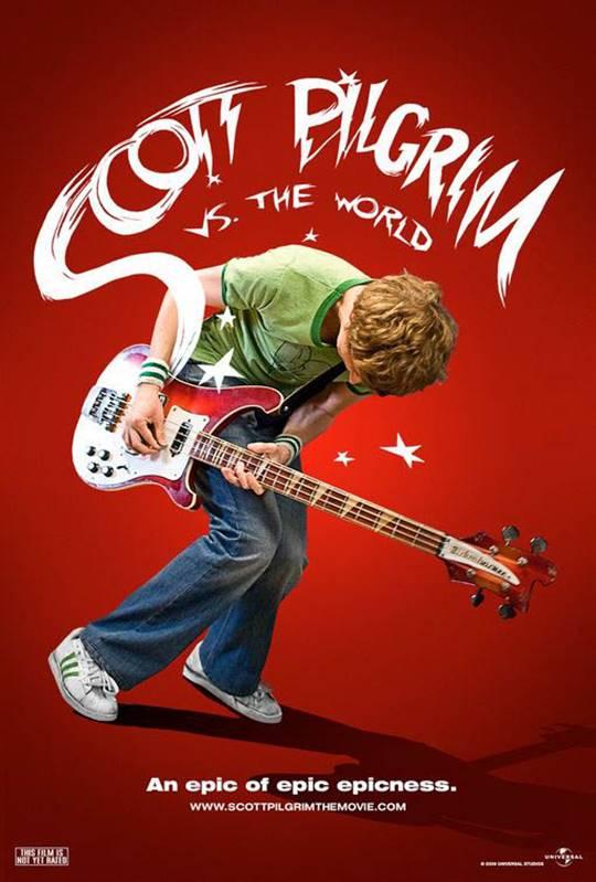 Scott Pilgrim vs. the World Large Poster