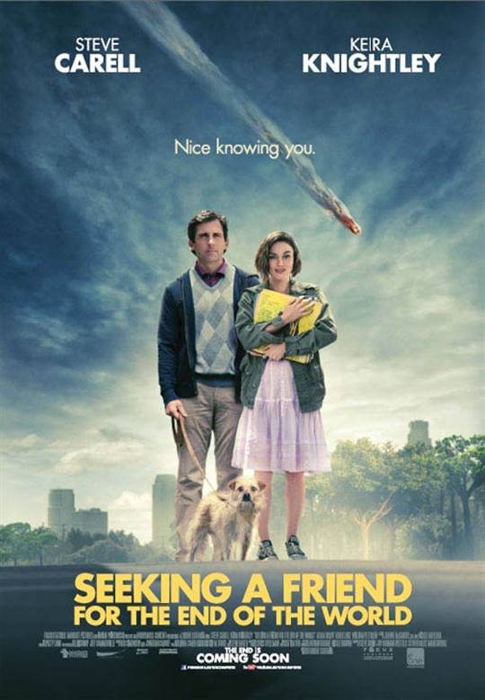 Seeking a Friend for the End of the World Large Poster