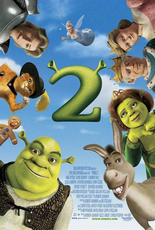 Shrek 2 Large Poster
