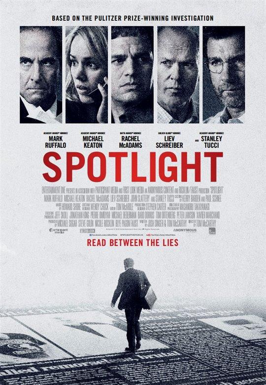 Spotlight Large Poster
