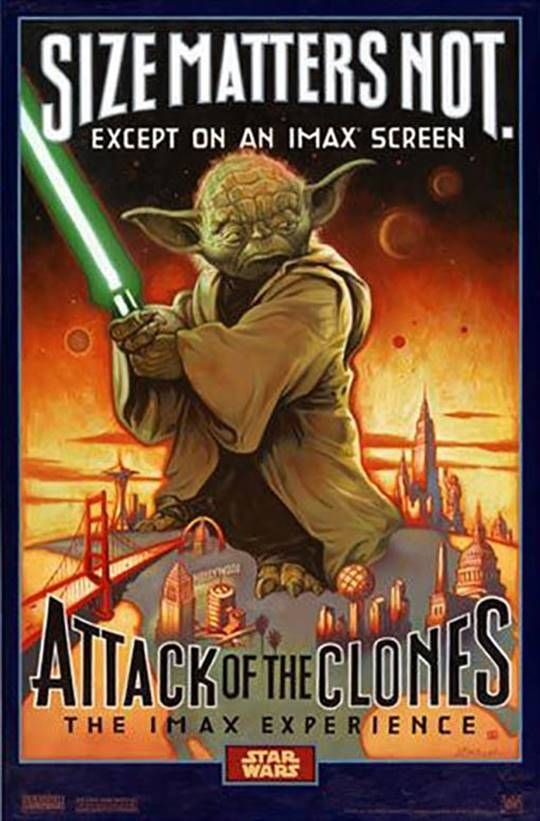 Star Wars: Episode II - Attack Of The Clones Large Poster