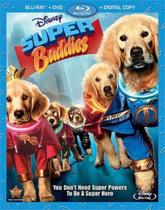 Super Buddies Large Poster