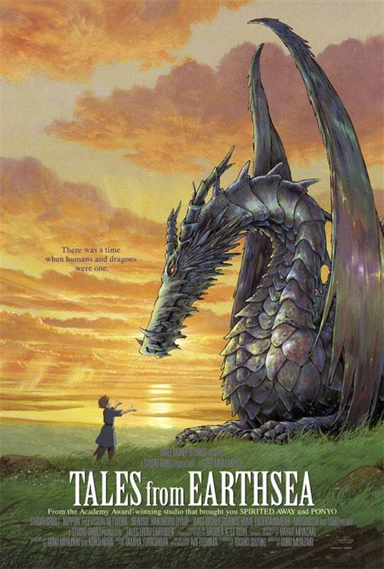 Tales from Earthsea (Dubbed) Large Poster